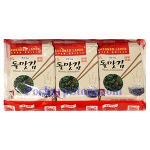 Picture of Haitai Seasoned Laver/Wando Dolmatkim 0.5 Oz, 3 packs