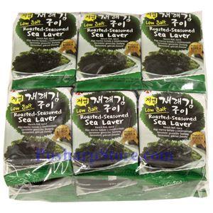 图片 韩国Hosan 牌即食海苔 55克,12袋