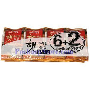 图片 韩国BekSul牌即食脆海苔 80克,6袋
