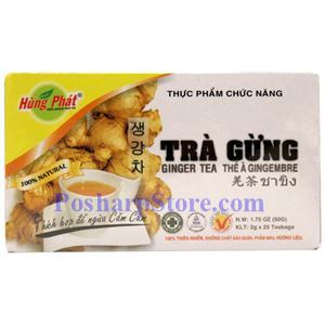 Picture of Hung Phat Ginger Tea, 25 Teabags