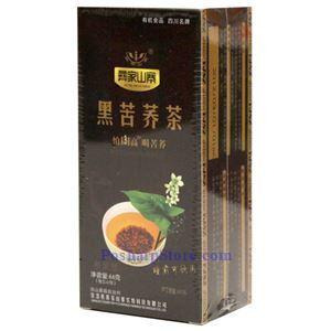 Picture of Yijia Shanzhai Bitter Black Buckwheat Tea 2.3 Oz
