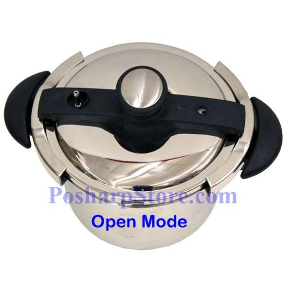 分类图片 美耐5.7升不锈钢压力锅