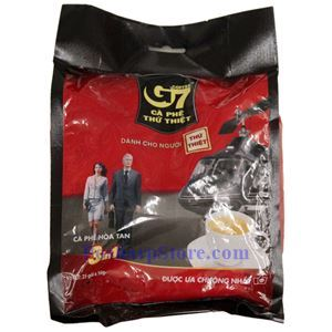 图片 越南Trung Nguyen牌G7三合一速溶咖啡 25小袋,400克