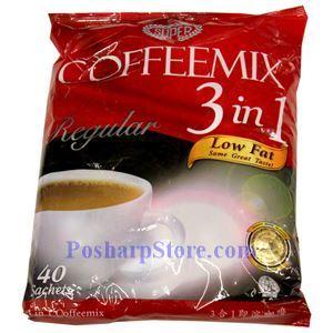 图片 Super牌三合一速溶低脂咖啡 30小袋