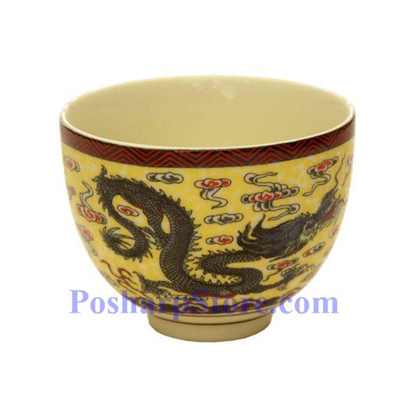 分类图片 金龙陶瓷如意茶壶(3英寸)