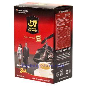 图片 越南Trung Nguyen牌G7三合一速溶咖啡 18小袋