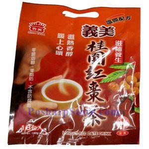 图片 义美牌桂圆红枣茶18小袋