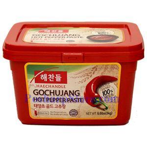 图片 韩国好餐得Haechandle牌辣椒酱  (中辣)3公斤
