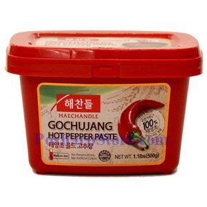 图片 韩国好餐得Haechandle牌辣椒酱 (中辣) 半公斤
