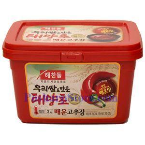图片 韩国好餐得Haechandle牌辣椒酱(特辣)  3公斤