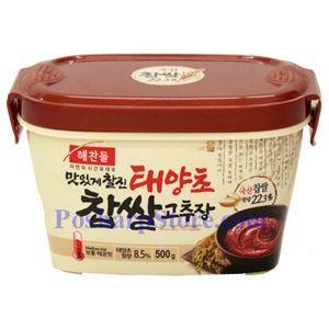 图片 韩国好餐得Haechandle牌糯米辣椒酱(中辣)500克