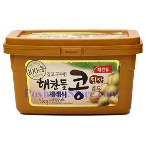 图片 韩国Haechandle牌韩式Kong黄豆酱1000克