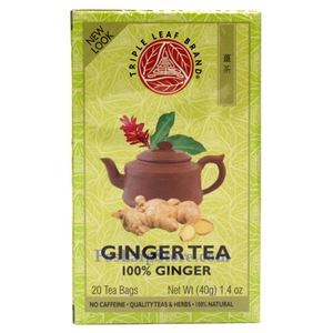 Picture of Triple Leaf Brand Ginger Tea, 20 Teabags