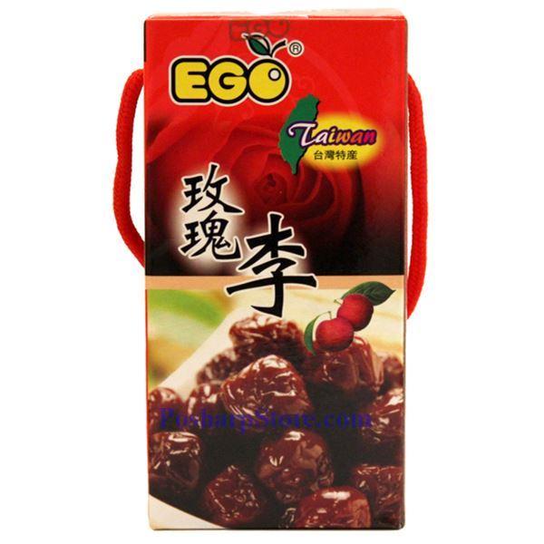 分类图片 台湾EGO牌玫瑰李 300 克