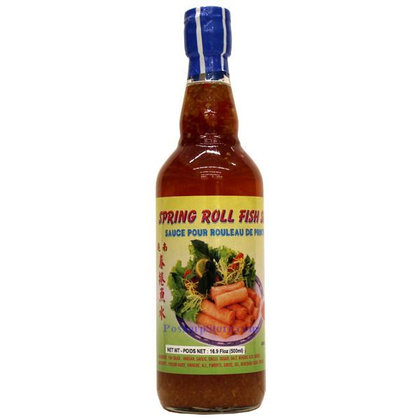 how to make fish sauce for spring rolls