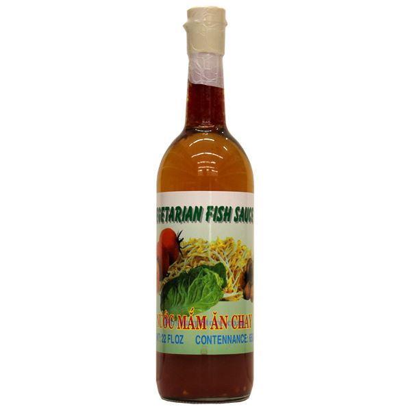 Custard apple brand vegetarian fish sauce 22 fl oz for Vegetarian fish sauce
