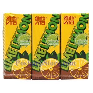 图片 维它奶牌青柠檬茶 250毫升(6支)