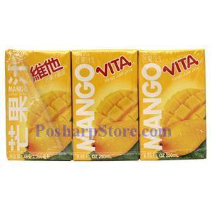 图片 维他奶牌芒果汁 250毫升(6支)