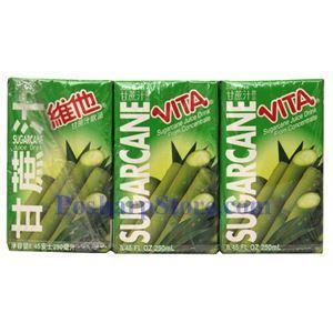 图片 维他奶牌甘蔗汁 250毫升(6支)