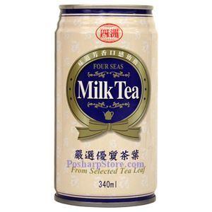 图片 四州牌奶茶 340毫升