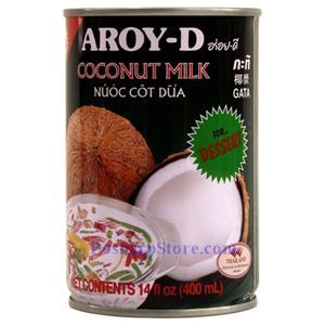 Picture of Aroy-D Coconut Milk for Dessert 14 Fl Oz
