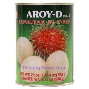 Picture of Aroy-D Rambutan  in Syrup 20 Oz