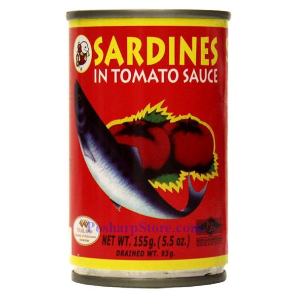 Picture of Smiling Fish Sardines in Tomato Sauce 5.5 Oz