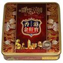 图片 香港金轩宝蛋黄白莲蓉月饼,4粒 750克