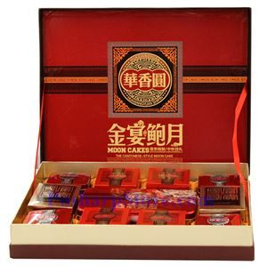 Picture of Huaxiangyuan Assorted Abalone Mooncake Gift Set
