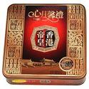 图片 香港帝皇双黄白莲蓉月饼 750克