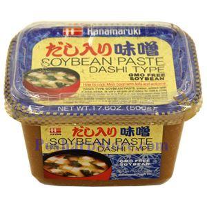 Picture of Hanamaruki Miso Paste (Dashi) 17.6 Oz