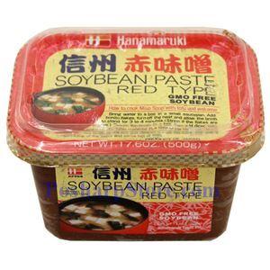 Picture of Hanamaruki Miso Paste (Red) 17.6 Oz