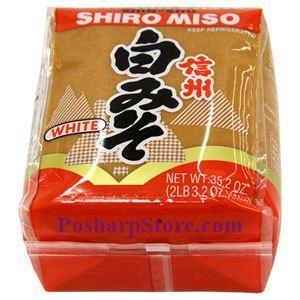 Picture of Shirakiku Shiro Miso Paste (White) 35.2 Oz