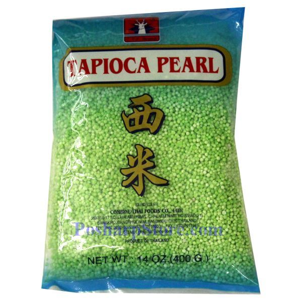 how to cook green tapioca pearls