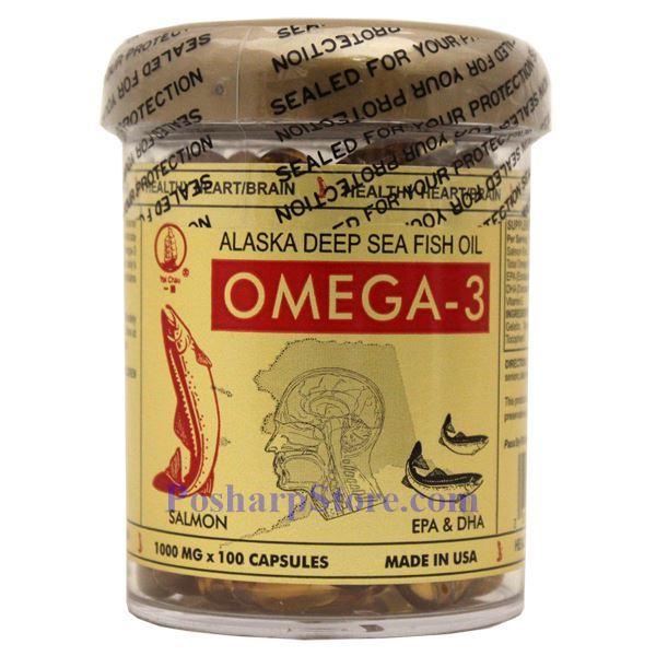Yat chau alaska deep sea fish oil omega 3 100 softgels for Alaska deep sea fish oil