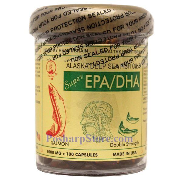 Yat chau alaska deep sea fish oil blended epa dha 100 softgels for Alaska deep sea fish oil
