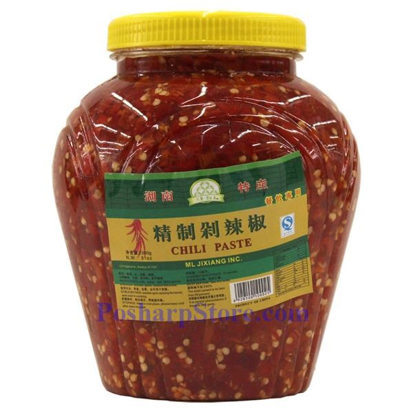 ... Six A Hunan Style Chopped Pickled Red Chili Pepper (Duolajiao) 5 Lbs