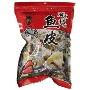 Picture of Natural Is Best Crispy Spicy Fish Skin  2.11 Oz