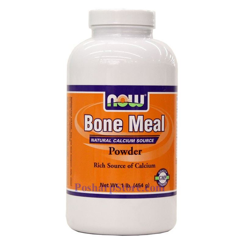 Now foods bone meal powder 1 lb for Fish bone meal