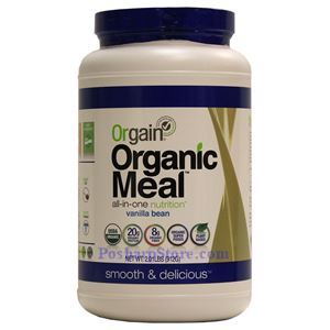 Picture of Orgain Organic Meal All-in-One Nutrition with Vanilla Flavor 2 Lbs