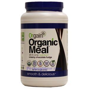 Picture of Orgain Organic Meal All-in-One Nutrition with Creamy Chocolate Fudge 2 Lbs