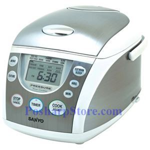 Picture of Sanyo ECJ-PX50S 5-Cup Pressure Rice Cooker & Steamer