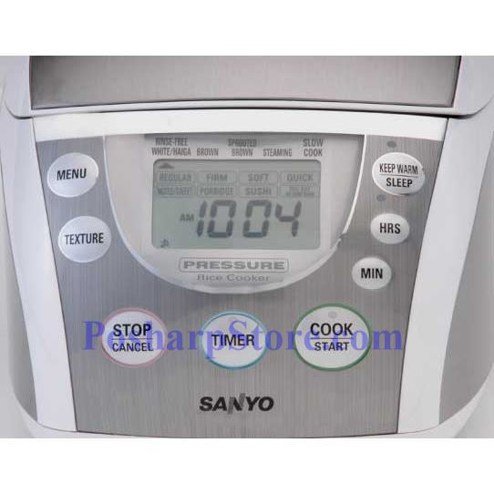 Picture for category Sanyo ECJ-PX50S 5-Cup Pressure Rice Cooker & Steamer