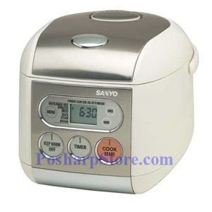 Picture of Sanyo ECJ-F50S 5-Cup Micom Rice Cooker & Steamer