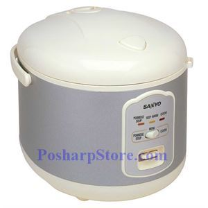 Picture of Sanyo ECJ-N55W 5.5-Cup Electronic Rice Cooker & Steamer