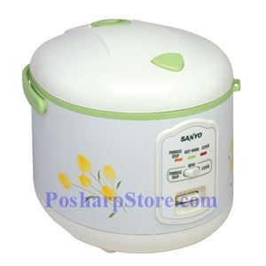 Picture of Sanyo ECJ-N55F 5.5-Cup Electronic Rice Cooker & Steamer