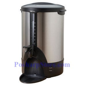 Picture of Aroma ACU-140S Stainless Steel 40-Cup Coffee Urn