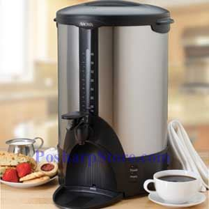 Picture for category Aroma ACU-140S Stainless Steel 40-Cup Coffee Urn