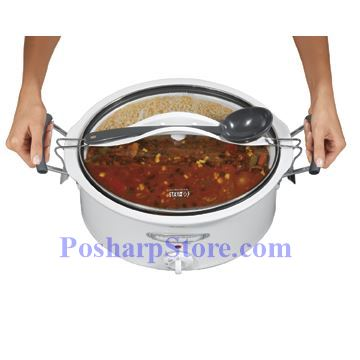 Picture for category Hamilton 33163H Stay or Go 6 Quart Oval Slow Cooker