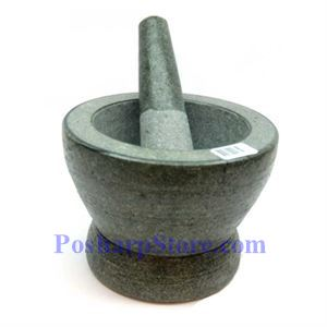 Picture of Granite Stone Mortar and Pestle